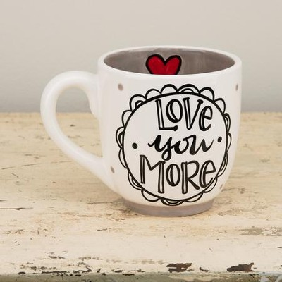 Love You More Than You'll Know Jumbo Mug  -