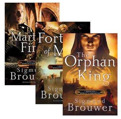 Merlin's Immortals Series, Volumes 1-3  -     By: Sigmund Brouwer