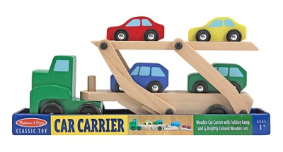 Car Carrier and Cars Set, 5 pieces  -