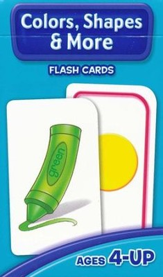 Colors, Shapes & More, Flash Cards for Beginners  -