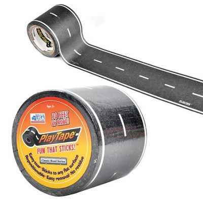 Asphalt Black Road Tape, 30ft x 2in  -
