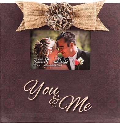 You & Me Photo Frame  -