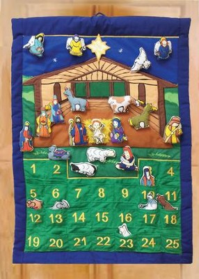 Nativity Manger Advent Calendar  -