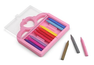 Princess Crayon Set, 12 pieces  -