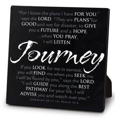 Journey Tabletop Plaque  -