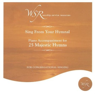 25 Majestic Hymns, Acc CD   -