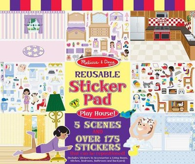 Play House Reusable Sticker Pad  -