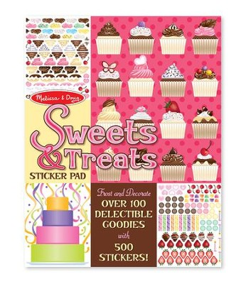 Sweets and Treats Sticker Pad  -