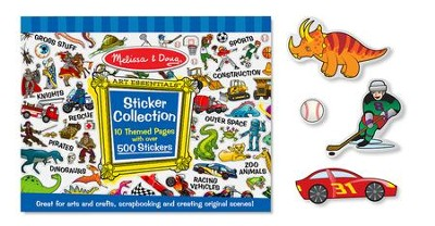 Sticker Collection, Blue  -