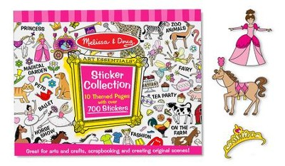 Sticker Collection, Pink  -