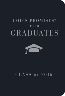 NKJV God's Promises for Graduates: Class of 2016, Navy  -     By: Jack Countryman