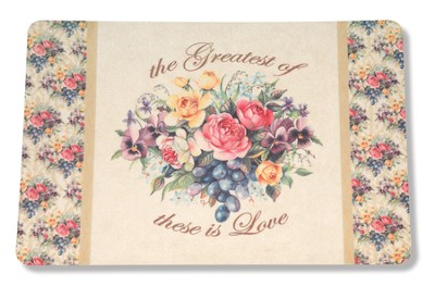 Love Among the Roses, Kitchen Door Mat   -     By: Sandy Clough