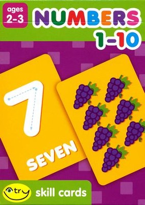 I Try Skill Cards: Numbers 1-10   -