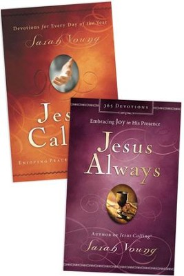 Jesus Always/Jesus Calling, 2 Books  -     By: Sarah Young