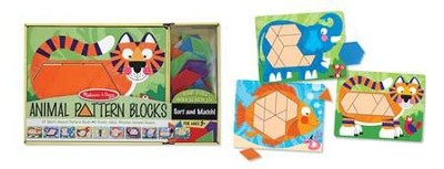 Animal Pattern Blocks  -