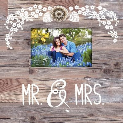 Mr. & Mrs. Photo Frame  -