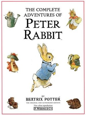 The Complete Adventure Peter Rabbit   -     By: Beatrix Potter
