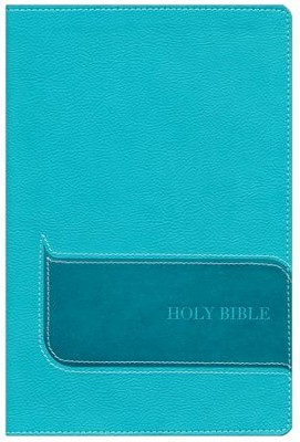 NIV Understand the Faith Study Bible--soft leather-look, turquoise (indexed)  -     By: Christianity Today International, Mark Galli