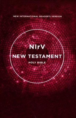 NIrV Outreach New Testament--softcover, pink   -