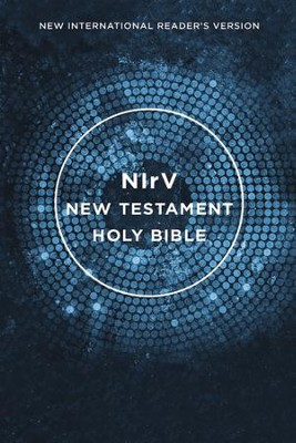 NIrV Outreach New Testament--softcover, blue  -