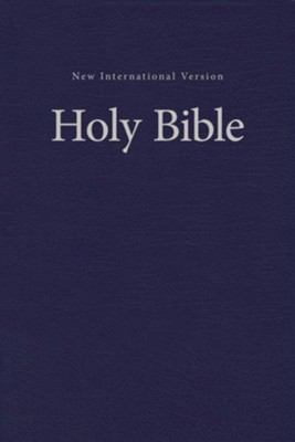 NIV Value Pew and Worship Bible--hardcover, blue  -     By: Zondervan