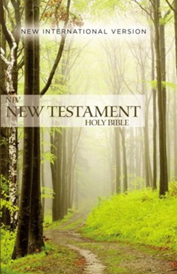 NIV Outreach New Testament--softcover, green forest path  -     By: Zondervan