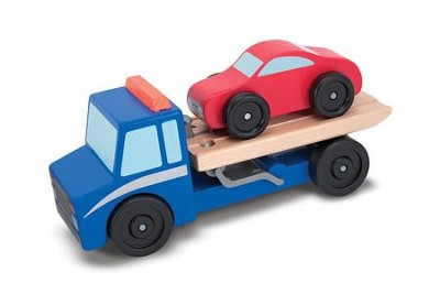 Flatbed Tow Truck Set  -