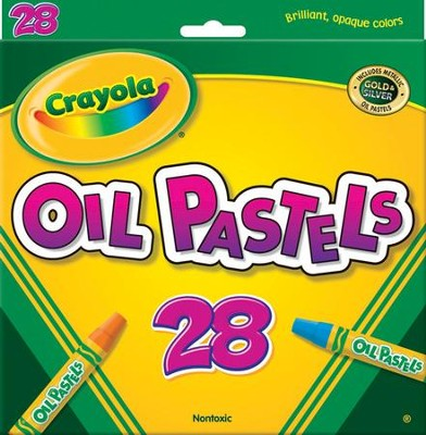 Crayola, Oil Pastels, 28 Pieces  -