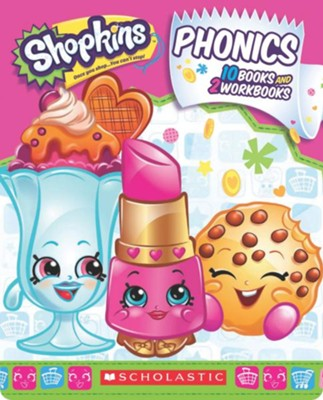 Shopkins Phonics Boxed Set  -     By: Scholastic
