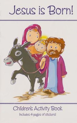 Jesus Is Born! Children's Activity Book   -