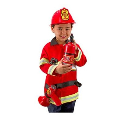 Fire Chief, Play Costume Set  -