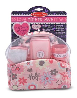 Doll Diaper Bag Set  -