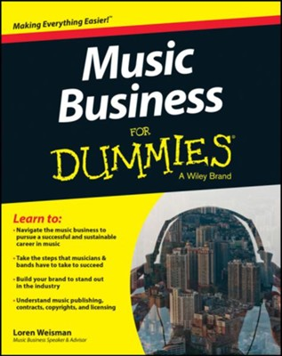 Music Business For Dummies  -