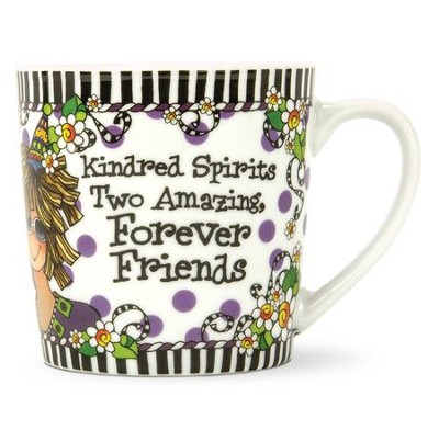 Kindred Spirits, Forever Friends, Porcelain Mug   -     By: Suzy Toronto