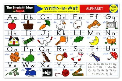 Alphabet Write-A-Mat   -