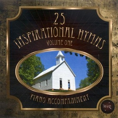 25 Inspirational Hymns, Vol. 1, Acc CD   -