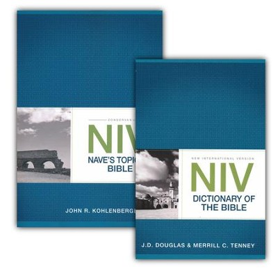 NIV Nave's Topical Bible & NIV Dictionary of the Bible, 2 Volumes  -