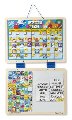 Monthly Magnetic Calendar  -