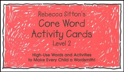 Sitton Grade 2 Core Words  -