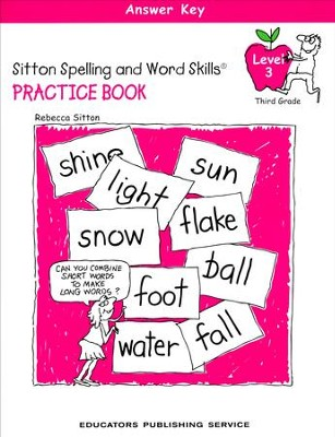 Sitton Grade 3 Answer Key  -