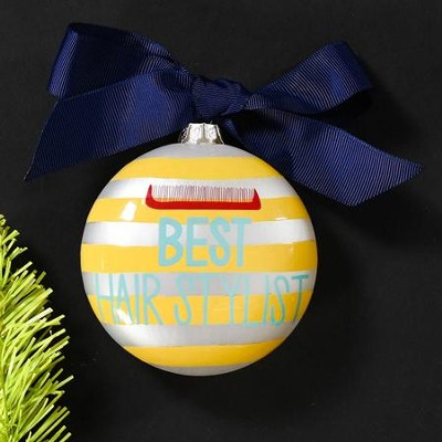 Best Hairstylist Ornament  -