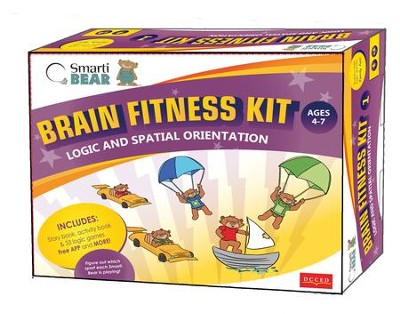 Brain Fitness Kit Logic and Spatial Orientation  -     By: George Ghanotakis