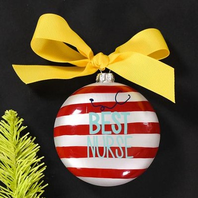 Best Nurse Ornament  -