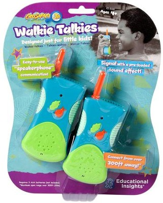 GeoSafari Jr. Walkie Talkie  -