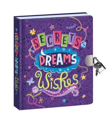Secrets, Dreams, and Wishes--Glow-in-the-Dark Diary   -