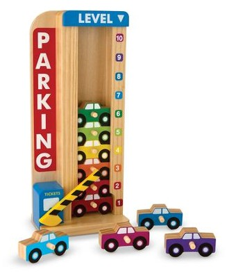 Stack and Count Parking Garage  -