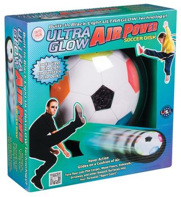 Ultra Glow Air Power Soccer Disk  -