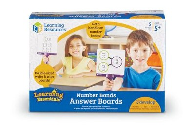 Number Bonds Answer Boards  -