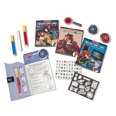 Secret Decoder Deluxe Activity Set  -