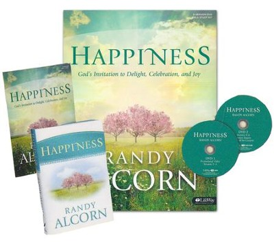 Happiness: God's Invitation to Delight, Celebration & Joy--DVD Leader Kit  -     By: Randy Alcorn
